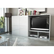 meuble tv avec bureau armoire bureau porte coulissante élégant meuble tv avec porte
