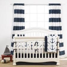Navy Nursery Bedding Nautical Baby Bedding Foter