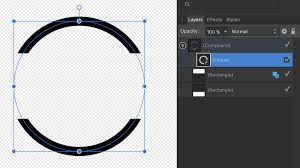 Designer Logo Affinity Designer How To Clean Up Compound Path Graphic