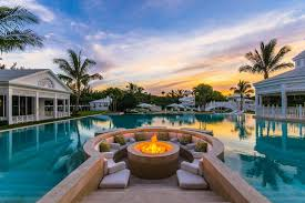 backyards with pools amazing backyard pools in famous celebrity homes carnahan