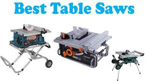 hitachi table saw review table saws reviews 2018 top 5 best table saws youtube