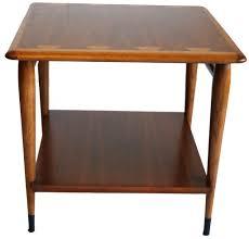 lane mid century modern coffee table mid century modern end table