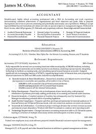 Examples Of Resume Names by Accountant Resumes Sample Resume For Accountant Resume Examples