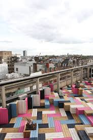 London College Of Interior Design London College Of Fashion Roof Garden City Of Westminster London