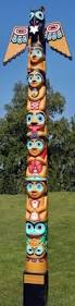 christmas totem pole by david k fison 토템풀 pinterest