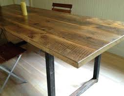 reclaimed wood dining table nyc reclaimed wood table tops debambu club
