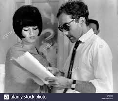 brigitte bardot u0026 jean luc goddard contempt le mepris 1963 stock