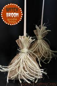 halloween goody bags cook and craft me crazy witch broom goodie bags