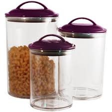 purple canisters for the kitchen purple kitchen canisters jars you ll wayfair