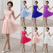 dresses for prom fashion women lace dress prom evening party cocktail