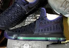 black friday basketball shoes sneakers news nike kd 9 u201cdark obsidian u201d what u0027s crackin