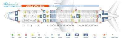 Klm Economy Comfort Seat Map Boeing 777 200 Klm Best Seats In The Plane