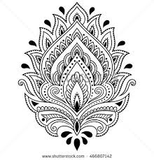 henna paisley stock images royalty free images u0026 vectors