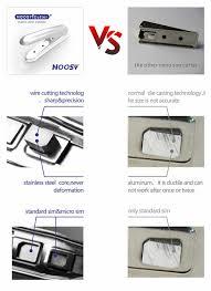 wts noosy nano sim cutter u0026 noosy nano sim card adapters