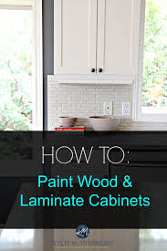 best laminate kitchen cupboard paint how to paint wood furniture and wood laminate cabinets