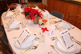 Christmas Dinner Centerpieces - phi alpha theta history department french christmas dinner honors