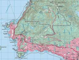 Topographic Map Of Usa by Delorme Xmap How To Add Canadian Topographic Maps To A Delorme Pn
