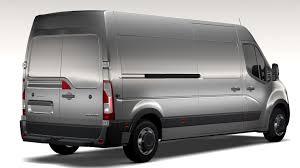 opel van opel movano l3h2 van 2016 3d model vehicles 3d models opel movano
