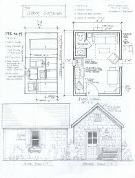 small mountain cabin home plans