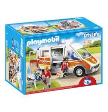 Ebay Playmobil Esszimmer Playmobil City Life Krankenwagen Mit Licht Und Sound 6685