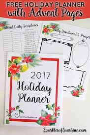 free planner and advent devotional all in one sparkles