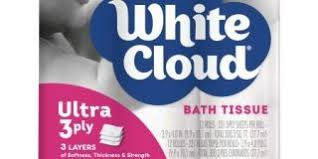 White Cloud Bathroom Tissue - target up and up toilet paper review