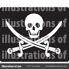 Picture Of A Pirate Flag Pirate Flag Clipart 67907 Illustration By Rosie Piter