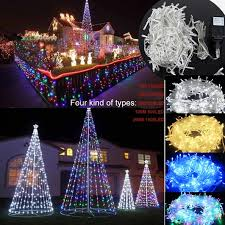 2m 200m battery electric fairy string lights led christmas xmas