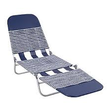 chaise pvc essential garden pvc chaise lounge blue