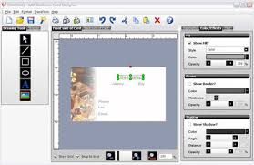card software the version of business card creator free in