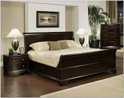 King Size Headboard And Footboard Sets by The Best Dark Wood King Size Bed Frame 2017 With Adjustable For