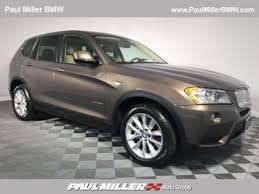 certified used bmw x3 for sale 143 pre owned cars suvs near pequannock paul miller bmw