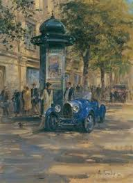 Classic Paint Classic Car Paintings By Alan Fearnley Classic Cars And Trucks
