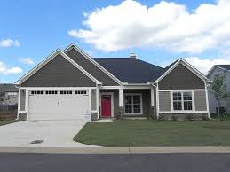 paint trim on taupe siding and red door meaning no mtg