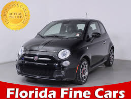 fiat hatchback used fiat 500 hatchback for sale in miami hollywood west palm