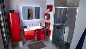 badezimmer rot modernes badezimmer design in rot ideen top