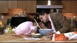 mr bean thanksgiving the turkey 1997 coub gifs