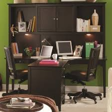 office desk computer desk with drawers and shelves two person