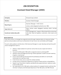 Retail Job Description For Resume by Store Manager Job Description 2 Starbucks Manager Job Description