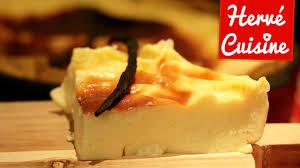 recettes hervé cuisine recette du flan vanille sans sucre et sans pâte