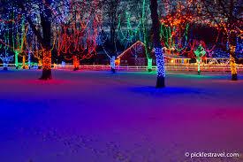 best christmas light displays in minnesota pickles travel blog