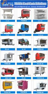 unique design new design commercial mini mobile food truck mobile