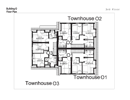 Building Floor Plan Village Townhouses Washington And Lee University