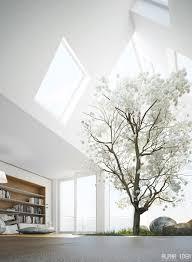 imaginative futuristic skylight living room interior design playuna
