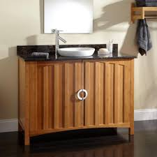 semi recessed bathroom sink bathroom contemporary with bamboo