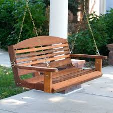 swinging garden bench benches garden swing seat wooden canopy