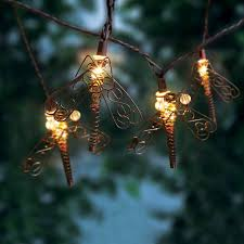 Dragonfly Light Fixture Mainstays Dragonfly String Lights 10 Count Walmart