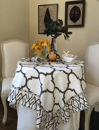 plastic thanksgiving tablecloths how to set a glorious thanksgiving side table