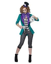 Mad Hatter Halloween Costumes Girls Storybook Costumes Spirithalloween