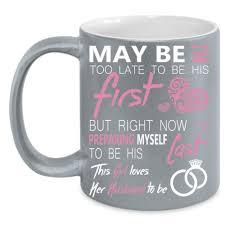 this loves her husband to be cup cool husband mug u2013 premium